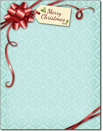 Amazon.com : Gift Package Holiday Stationery - 80 Sheets : Office ...