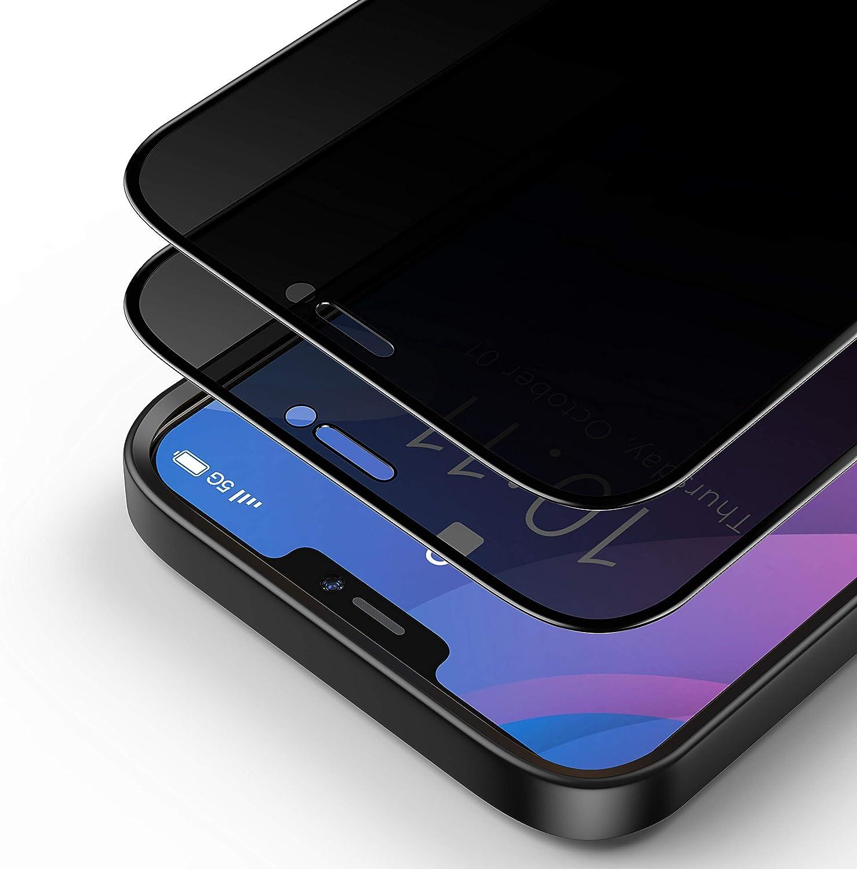 Bewahly Cristal Templado para iPhone 12 Pro MAX 6.7
