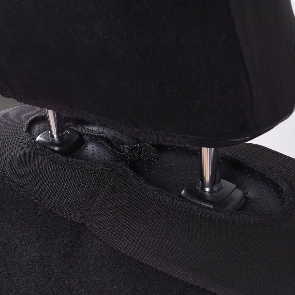 Set Completo di Fodere per Seggiolino Auto 11 Pezzi CAR PASS Coprisedili Universali per Auto Protezioni per la Parte Anteriore e Posteriore del Sedile