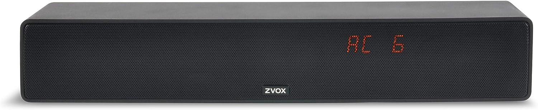 ZVOX Dialogue Clarifying Sound Bar-AccuVoice AV157 TV Speaker