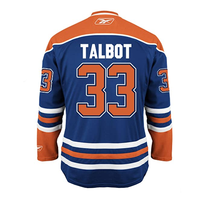 competitive price 8d5e2 f5479 Cam Talbot Edmonton Oilers Home Jersey (Large): Amazon.ca ...