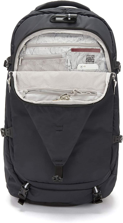 PacSafe Venturesafe Exp55 Anti-Theft Travel Pack-Black Backpack