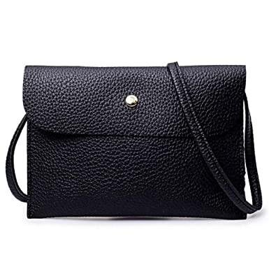Amazon.com: FDelinK Womens Handbag Set 4 Pieces Bag PU Leather Tote Small Shoulder Purse Bags Crossbody Wallet (Black): Clothing