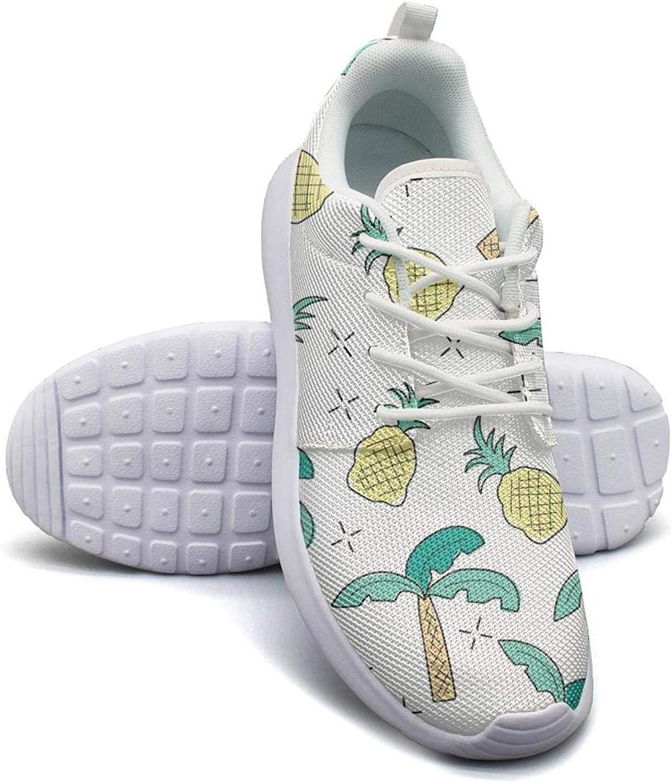 Banana Plant Fruit Low Top Canvas Sneakers Skateboard Shoes Slip on Lace-up Fashion Sneaker Shoe Women