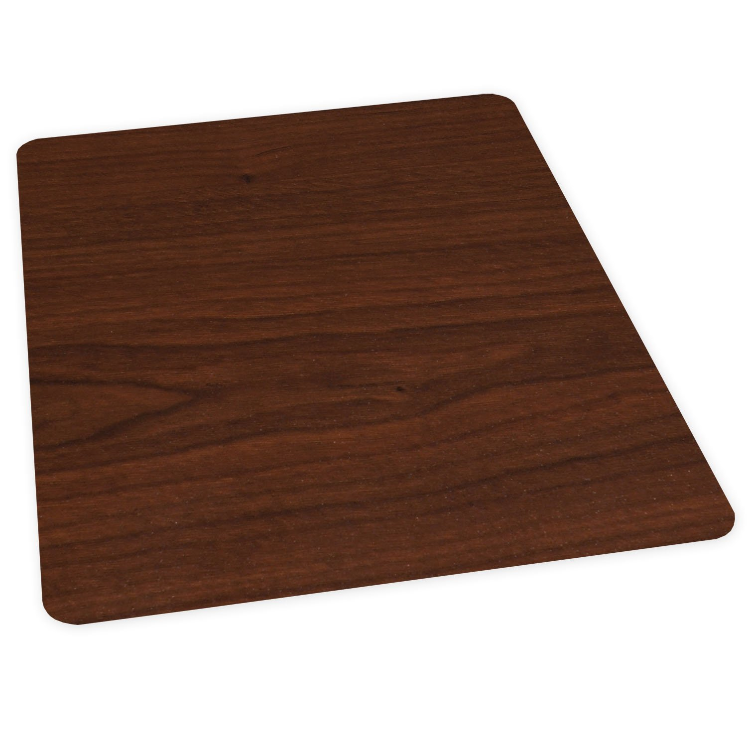 amazon com es robbins wood veneer style rectangle chair mat for