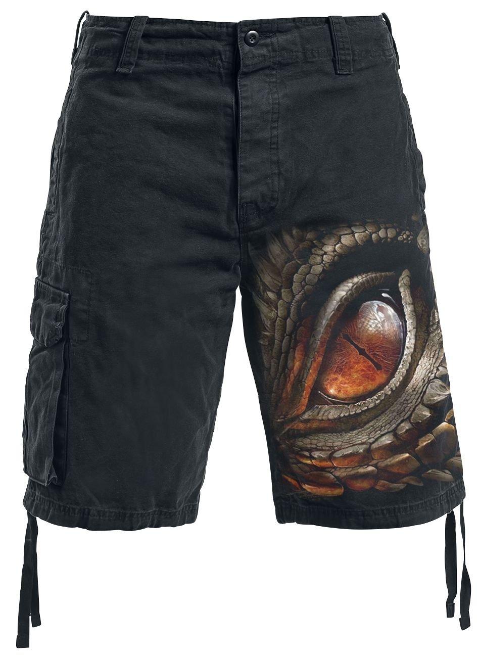 Spiral Dragon Eye Vintage Shorts Schwarz Spiral Direct Ltd.