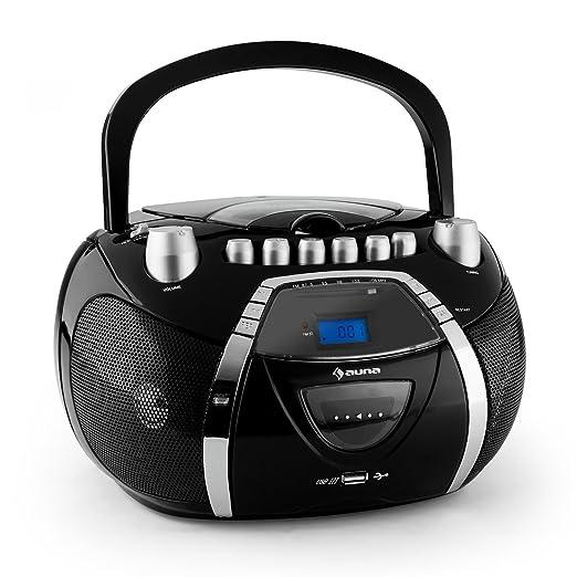 9 opinioni per Auna Beeboy radio portatile boombox
