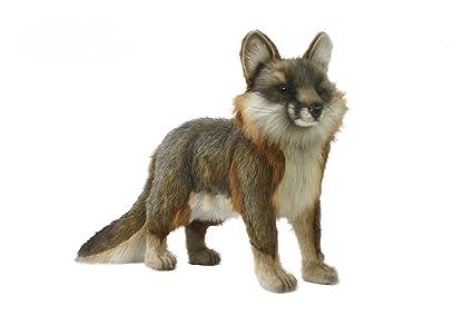 Amazon Com Hansa Fox Plush Gray Toys Games