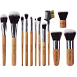 Amazon Price History for:EmaxDesign 12 Pieces Makeup Brush Set Professional Bamboo Handle Premium Synthetic Kabuki Foundation Blending Blush Concealer Eye Face Liquid Powder Cream Cosmetics Brushes Kit With Bag
