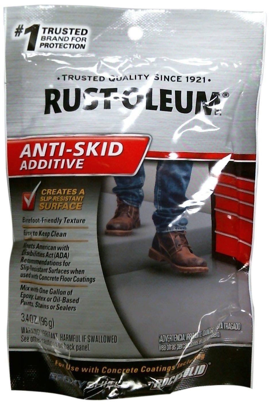 Amazoncom RustOleum EPOXYShield Anti Skid Ounce Home - Ada slip resistance