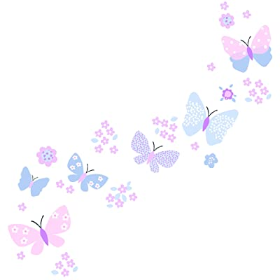 Bedtime Originals Butterfly Meadow Wall Appliques: Baby