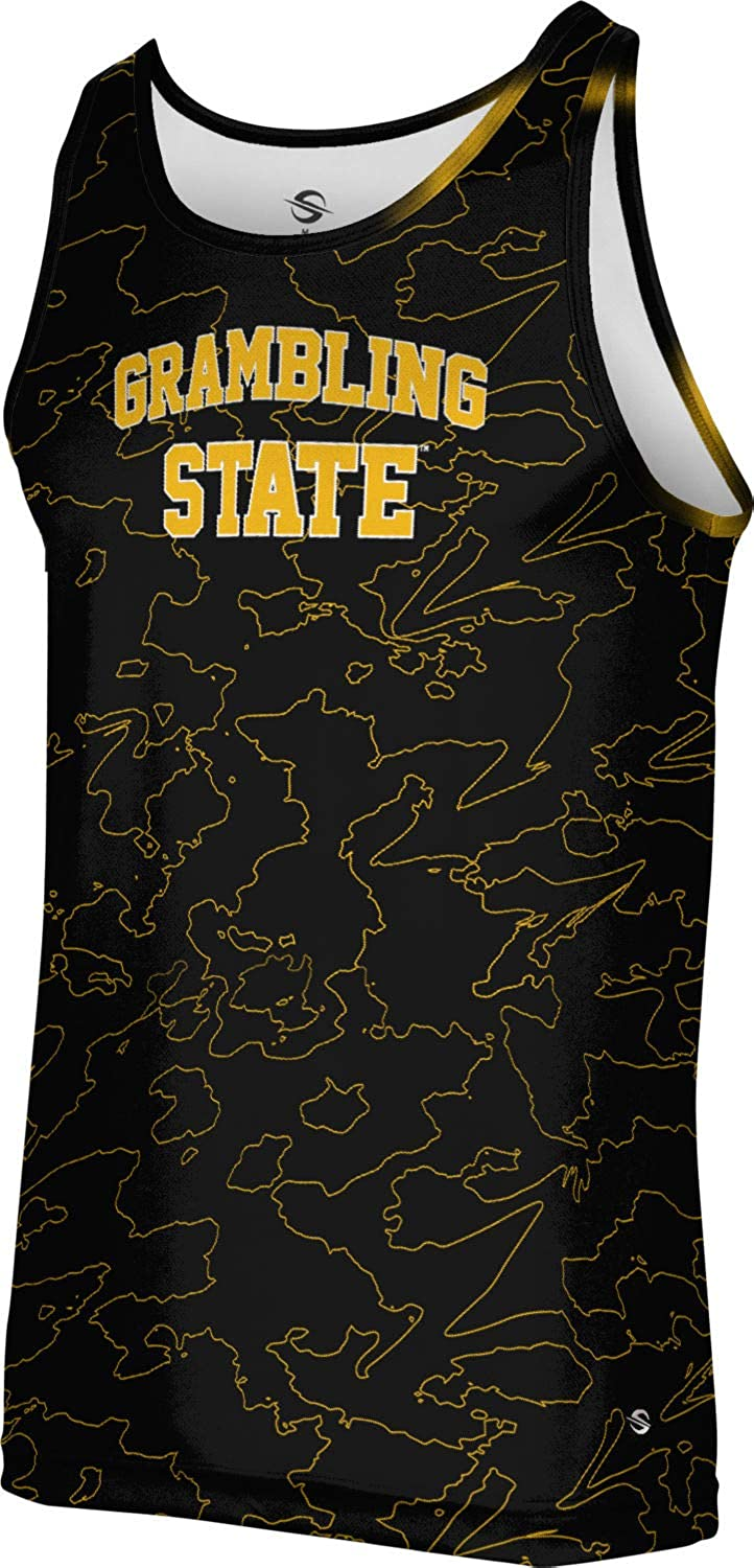 Topography ProSphere Grambling State University Mens Performance Tank