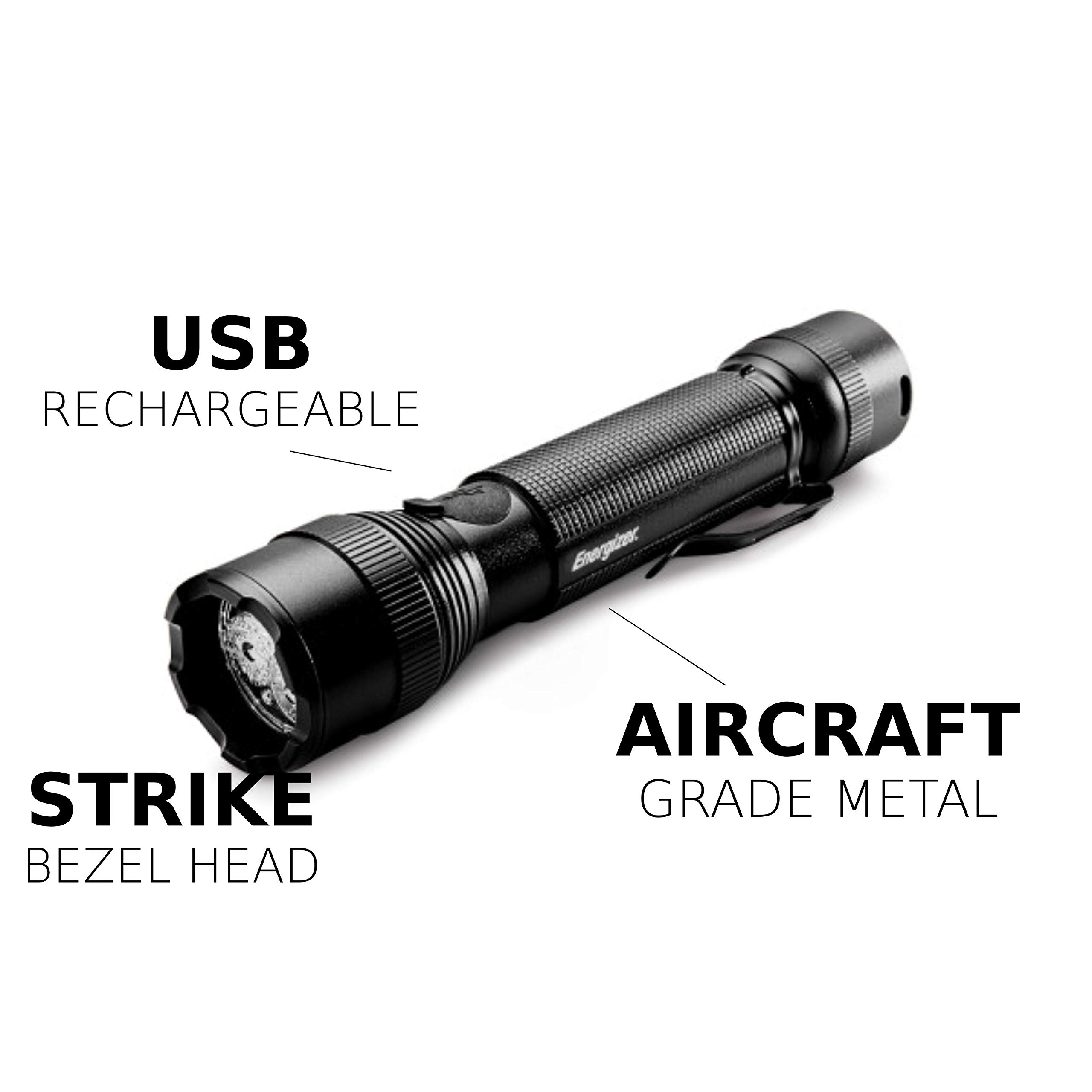 Energizer Tac-r 700 Rechargeable Tactical Flashlight, 700 Lumens 3 Modes by Energizer (Image #9)