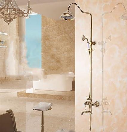 Amazon Com Antique Gold Bathroom Accessories Gilded Shower European
