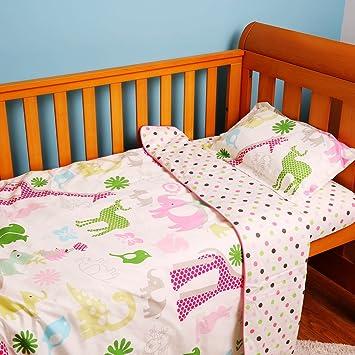 I Baby 4 Teiliges Bettwäsche Set Für Babybett 100 Baumwolle