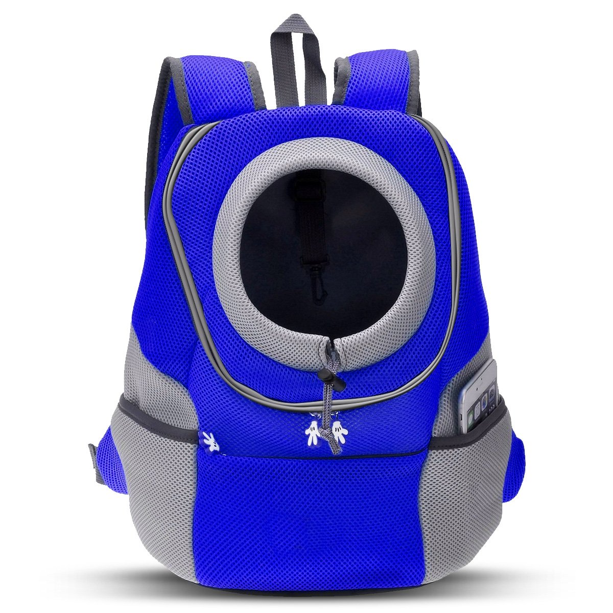 bluee Large bluee Large PETCUTE Premium Pet Carrier Backpack Pouch for Cats Dogs Puppy Holder Bag Travel Shoulder Bags Airline Approved for Bike Hiking Outdoor bluee