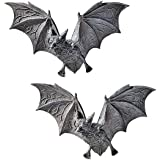 Design Toscano PD0054 the Vampire Bats of Castle Barbarosa Wall Sculptures - Set of 2