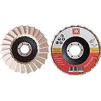6 Discos para Pulir KESTKAS 115mm Metal,Acero INOXidable,Aluminio,Cromado,Cobre