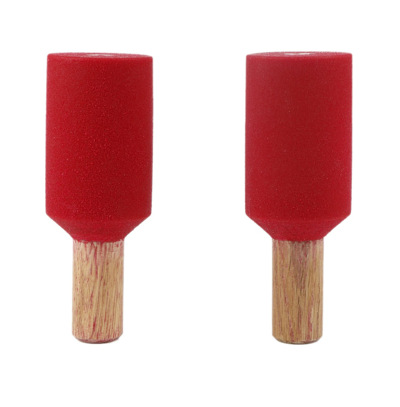 2.5'' Peg Board Pipes (Set Of 2)   Climbing Holds   Red