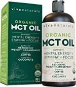 Organic MCT Oil for Morning Coffee - Best MCT Oil Keto