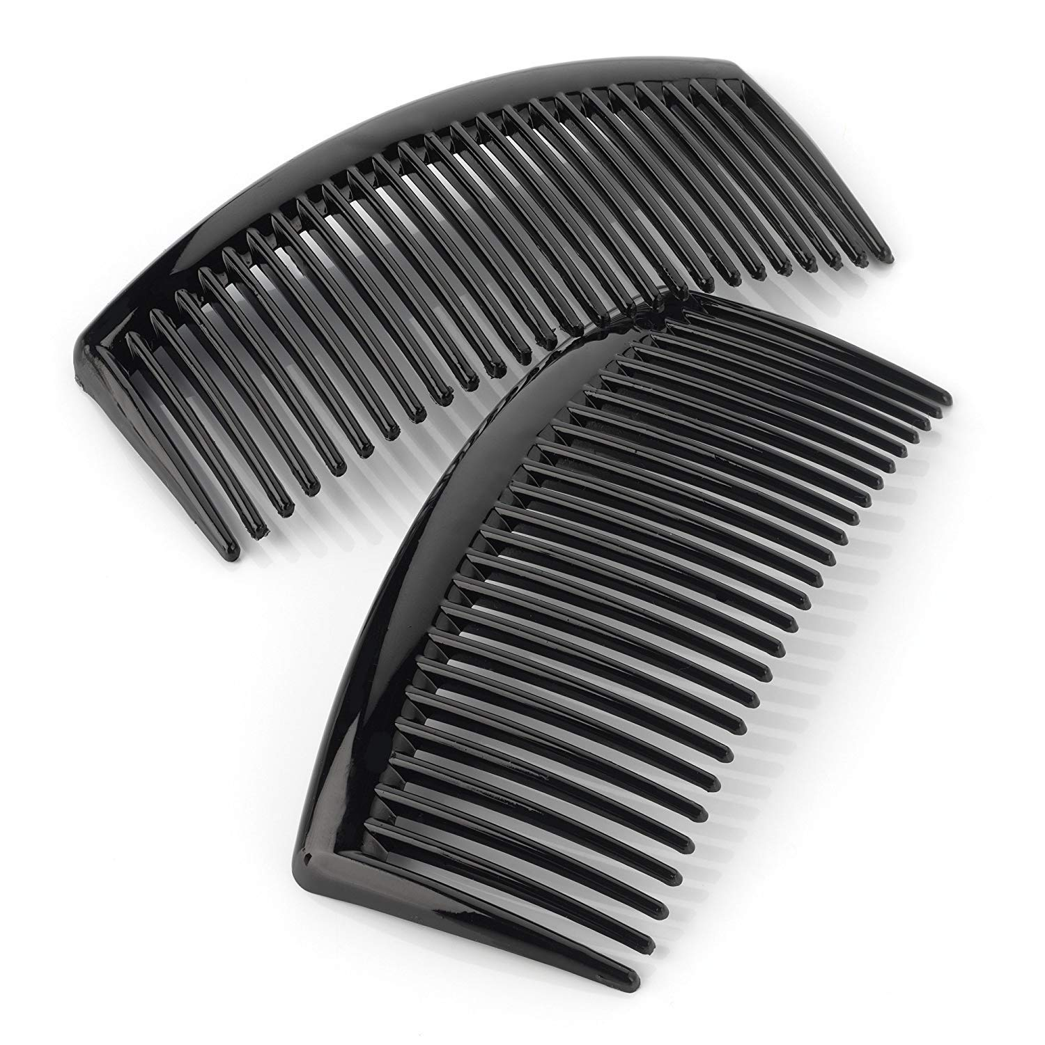 Black Colour 9.5cm Wide Hair Tooth Side Comb Other