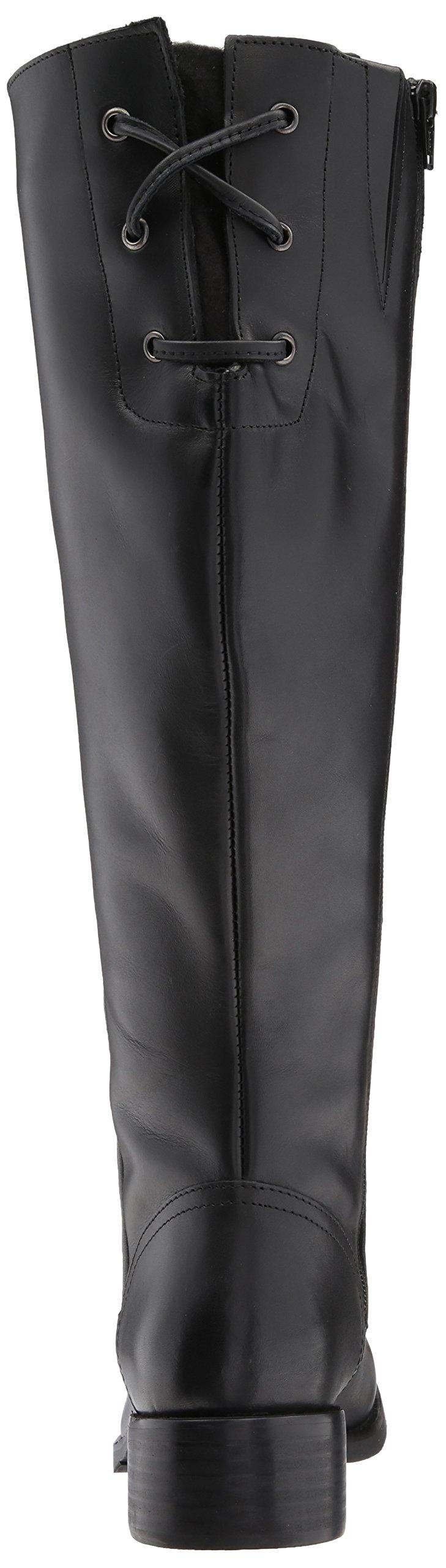 Steve Madden Women's Lover Western Boot, Black Leather, 8.5 M US by Steve Madden (Image #2)