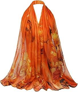 c53b6709c3ab 5 ALL Echarpe Foulard Femme Impression Anti uv Coloré En Soie Grand Coton Foulard  Soie Chale