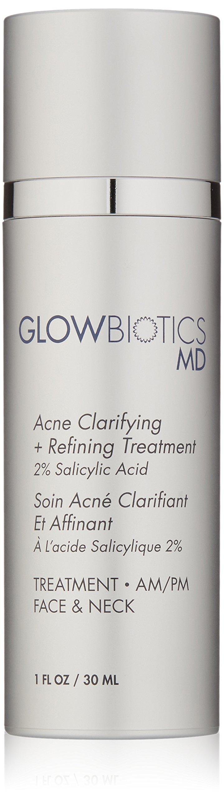 Glowbiotics MD Probiotic Acne Clarifying + Refining Treatment (2% Salicylic Acid), 1oz