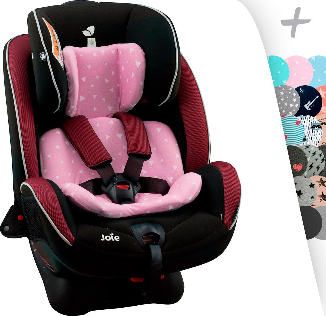 BLACK RAYO JANABEBE Funda para reductor Joie Stages Every Stages