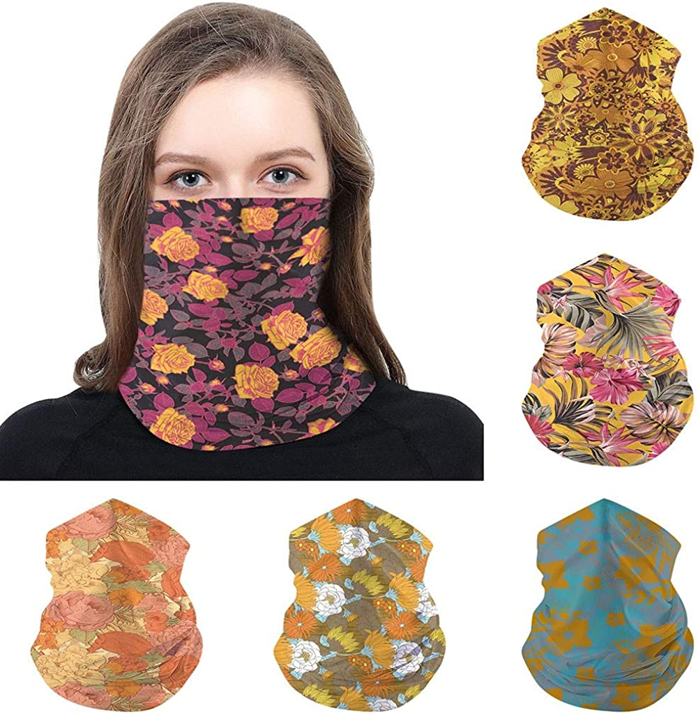MmNote Multifunctional Headwear Unisex Outdoor Headband Scarf Neck Windproof Sun Protection Bandana