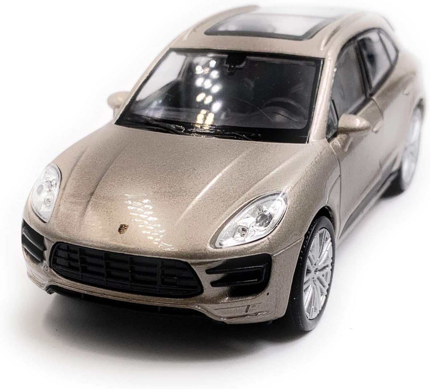 Licence Onlineworld2013 Macan Turbo SUV Model Car Auto Couleur al/éatoire /Échelle 1:34