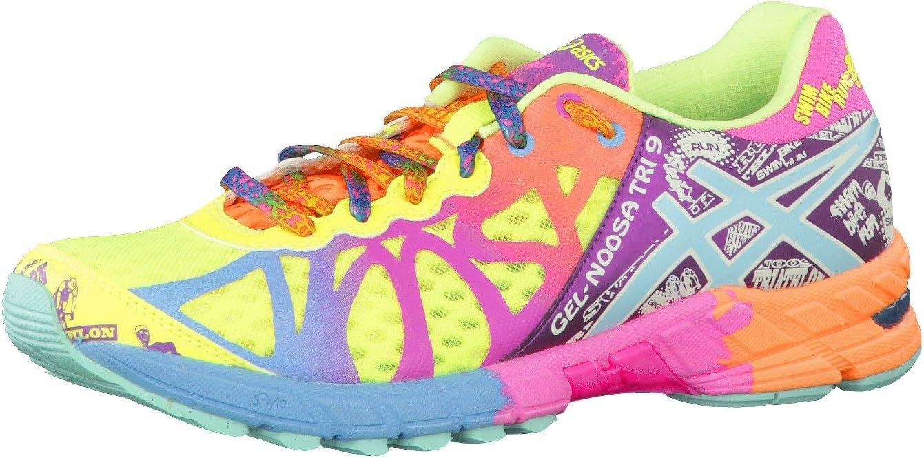 ASICS Gel-Noosa Tri-9 Womens Zapatillas para Correr - Amarillo, 41.5: Amazon.es: Deportes y aire libre