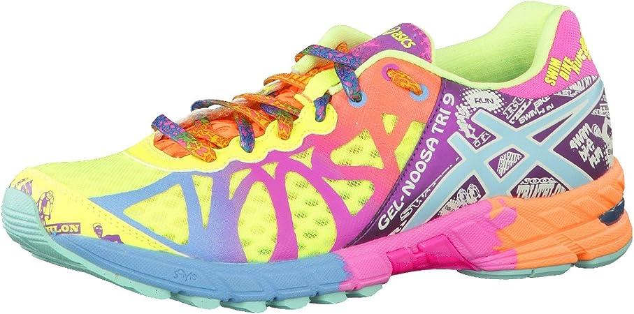 ASICS Gel-Noosa Tri-9 Womens Zapatillas para Correr - Amarillo, 40.5: Amazon.es: Deportes y aire libre