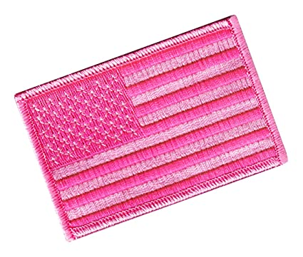 Amazon.com  American Flag Embroidered Tactical Patch All Pink w ... 26c8c78fbbd