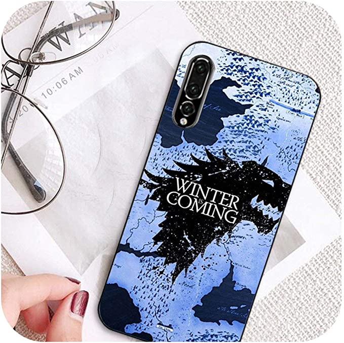 Game Thrones Wolf Coque pour Huawei P20 Lite P10 Plus Mate 9 p10 ...