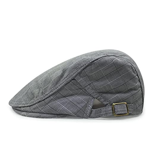 e18fdd05 Men's Cotton Flat Ivy Gatsby Newsboy Driving Hat Cap at Amazon Men's ...