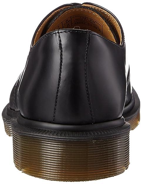 Dr. Martens 1461PW, Unisex-Adults' Lace-up Flats, Black Smooth, 7 UK (41  EU): Amazon.co.uk: Shoes & Bags