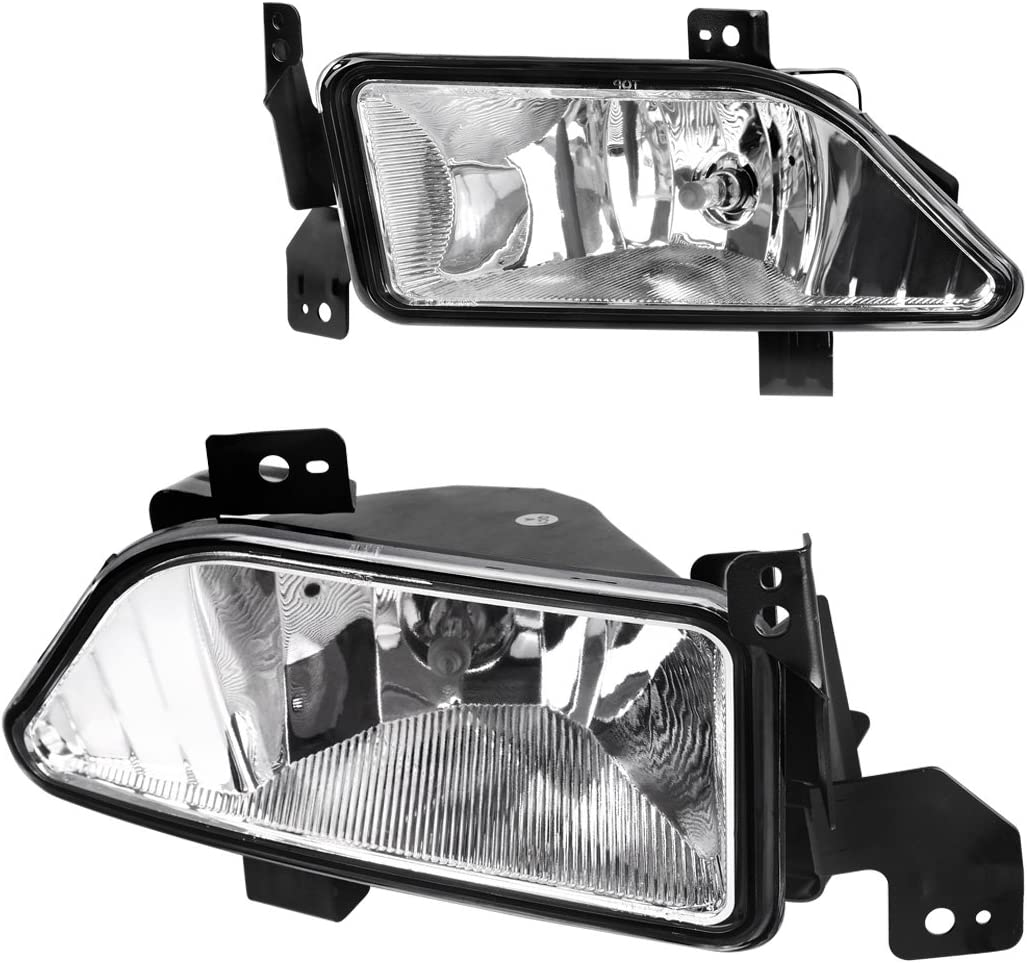 Driver and Passenger Fog Lights Lamps Replacement for Honda SUV 33951-S9V-A11 33901-S9V-A11 AutoAndArt