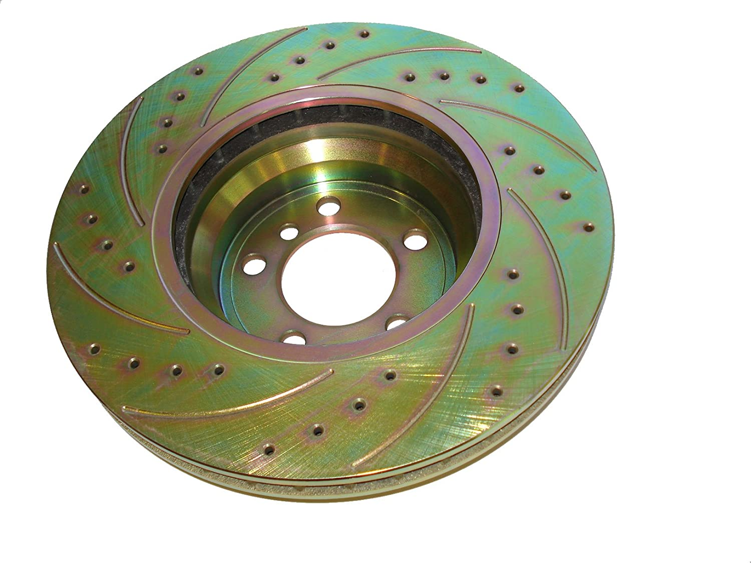 Front Vented Cross Drilled /& Slotted ONLY 34-11-6-750-267 MTC 1866 for BMW Models Set of 2 MTC 1866//34-11-6-750-267 Brake Disc Rotor