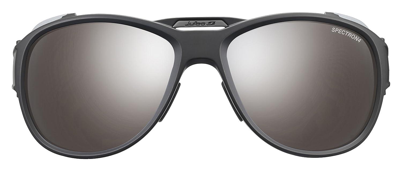 fc880c7165e703 Amazon.com  Julbo Eyewear Unisex Explorer 2.0 Sunglasses Matte Black Gray  With Spectron 4 Lens One Size  Sports   Outdoors