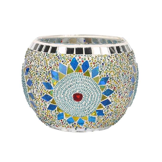 Trada Dekorative Lichter, Handgemachter Mosaik Glaskerzenständer Hochzeits Valentinstag  Zimmer Dekoration Verzierungen Repetieren Ornamente Requisiten ...
