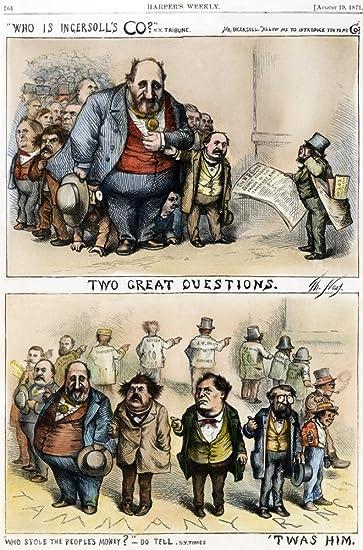 Amazon Com Cartoon Tweed 1871 None Of Thomas Nasts Cartoon