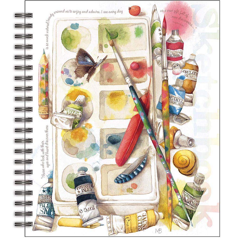 Lang Painterly Spiral Bound Sketchbook by Marjolein Bastin, 10 x 11.25 Inches(4006030)