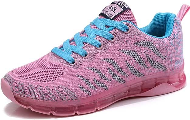 JIANKE Zapatillas Deportivas Mujer Zapatos de Transpirables Ligero Running Fitness Caminar: Amazon.es: Zapatos y complementos