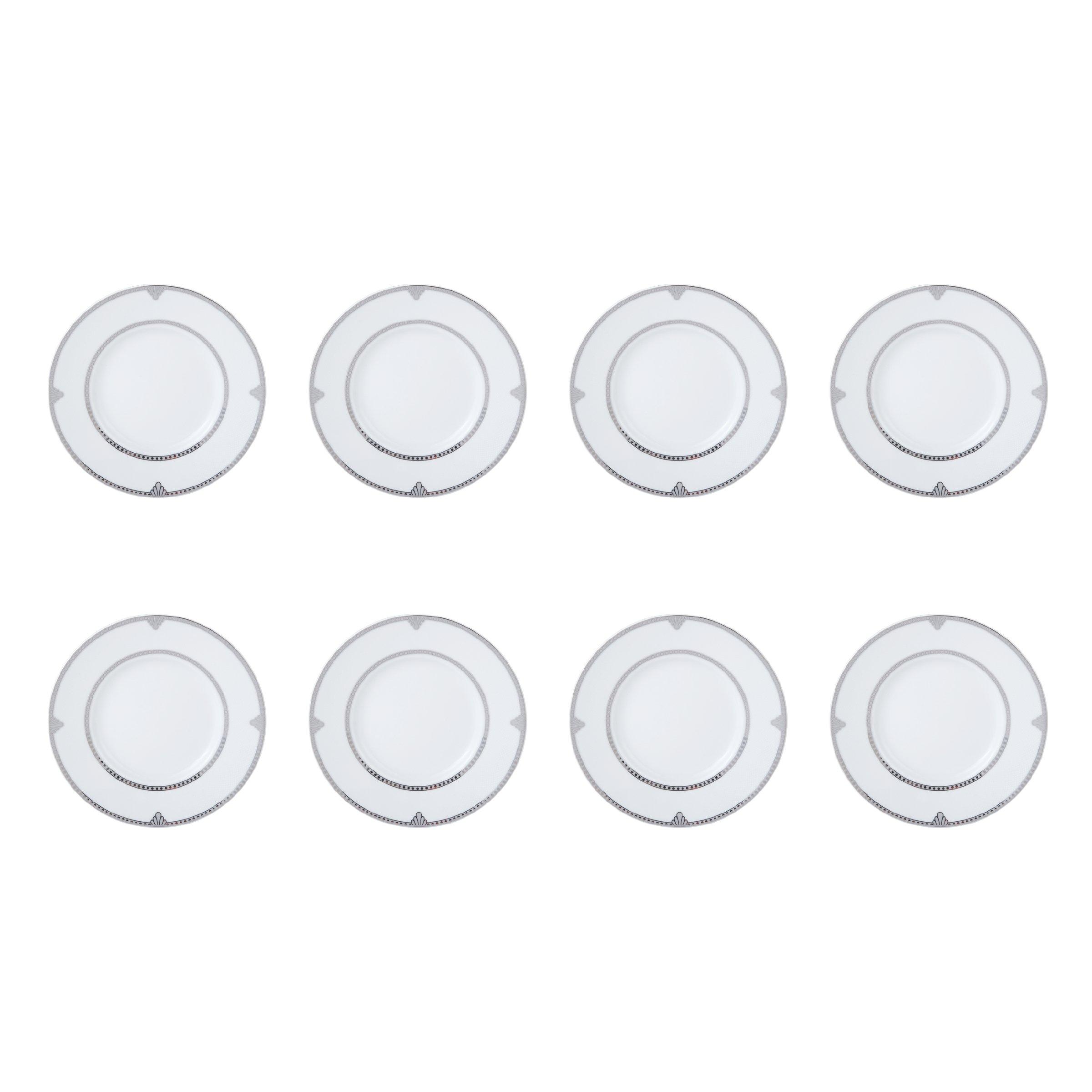 Mikasa Regent Bead 40-Piece Porcelain Dinnerware Set, Service for 8 by Mikasa (Image #6)