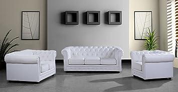 modern furniture vig paris 3 modern white leather sectional sofa