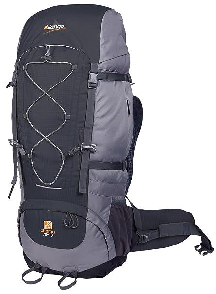 Vango Sherpa - Mochila de acampada (70 L), color negro: Amazon.es: Ropa y accesorios