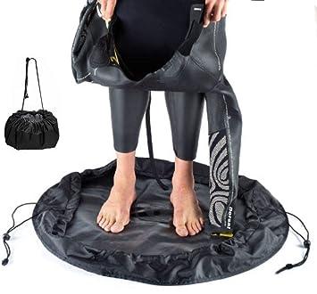 Amazon.com: Toogou - cambiador de traje de neopreno y bolsa ...
