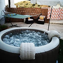 Intex 28440EX Spa hinchable 4 personas Greywood Deluxe 795 Litros ...