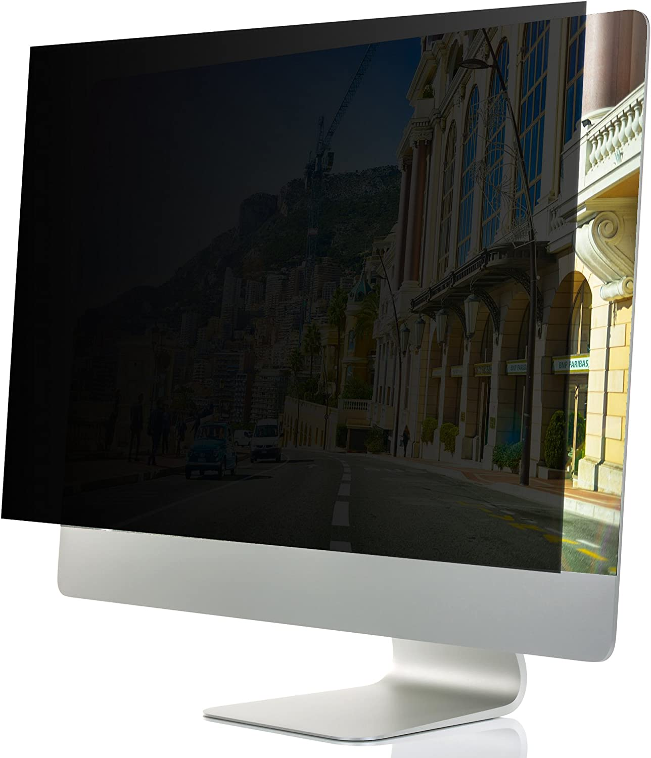 "22-Inch Computer Privacy Screen Filter for Desktop Monitors (Diagonally-Measured); Anti-Glare Anti-Scratch Film; Protects Sensitive Confidential Data (22"" Widescreen (16:10 Aspect Ratio))"